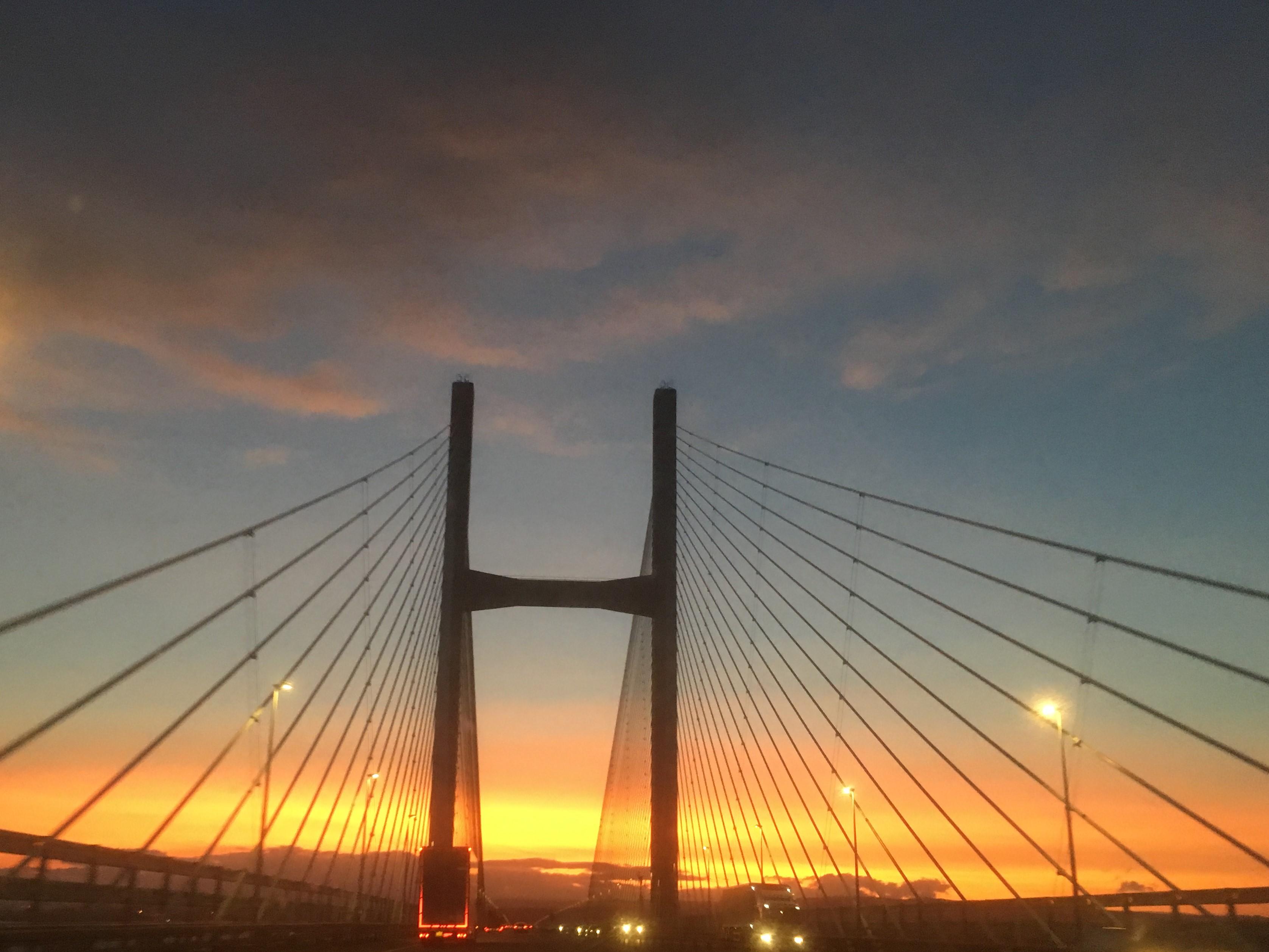 Severn Bridge Sunset